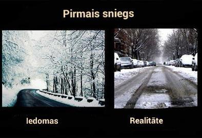 Autors: Tvītotāja Iedomas pret realitāti. Tulkots.