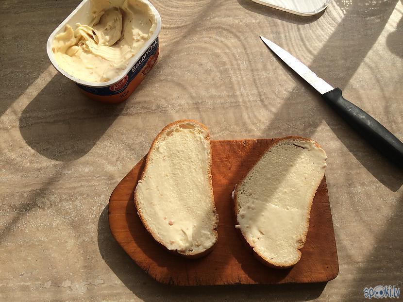 Ņemam 2 scaronķēlītes maizes... Autors: Fosilija Brokastu maizes bekonā