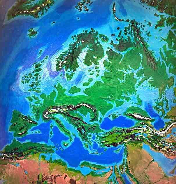 Un tā visa Eiropa Autors: Raziels Kad Eiropa pazudīs zem ūdens
