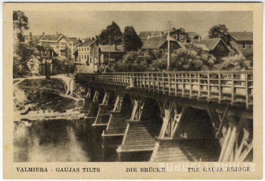 1865 gadā pār Gauju atklāja... Autors: pepija777 Interesanti fakti par Valmieru.