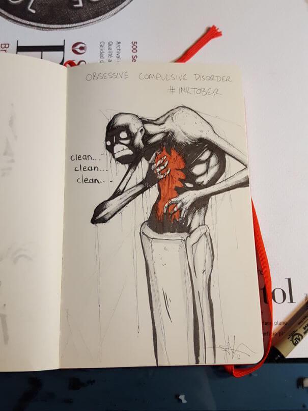 Obsesīvi kompulsīvie... Autors: nanitinja Psihiskie traucējumi un slimības attēlos