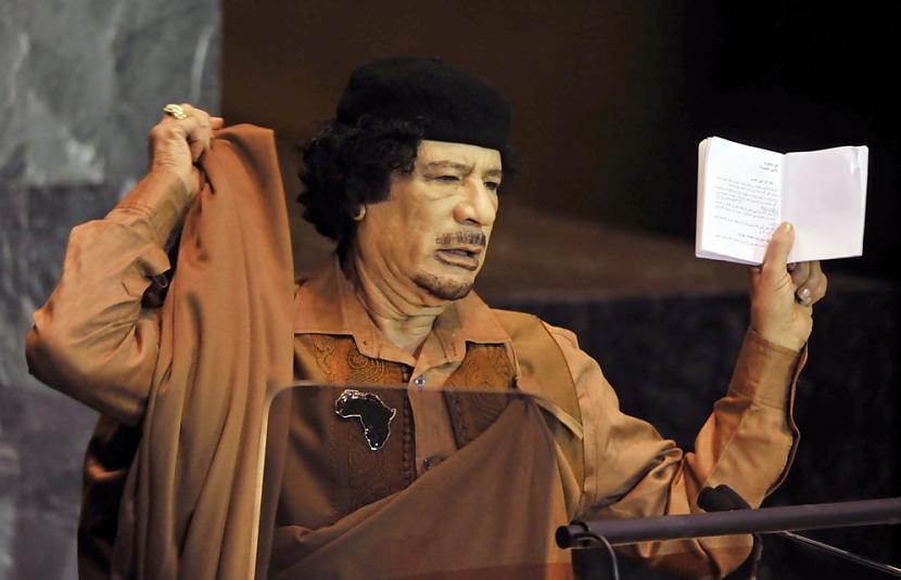 Lībijas līderis Muamars Kadafi... Autors: Heroīns14 Diktatoru pusdienas.