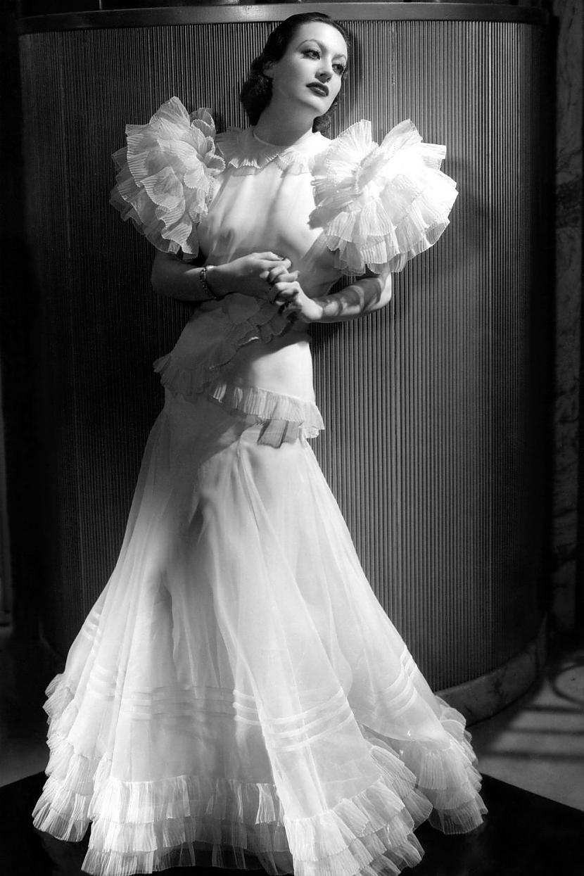Joan Crawford1930tajos viņa... Autors: Lestets Modes ikonas no 1930-tajiem