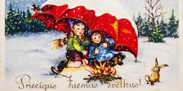Senās Rīgas sabiedriskajā... Autors: korvete Senās Rīgas Ziemassvētki