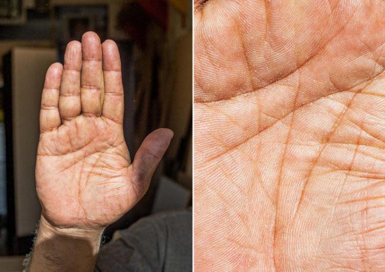 Namdaris Autors: matilde Fotogrāfs, kurš atrāda dažādu cilvēku profesijas caur viņu rokām