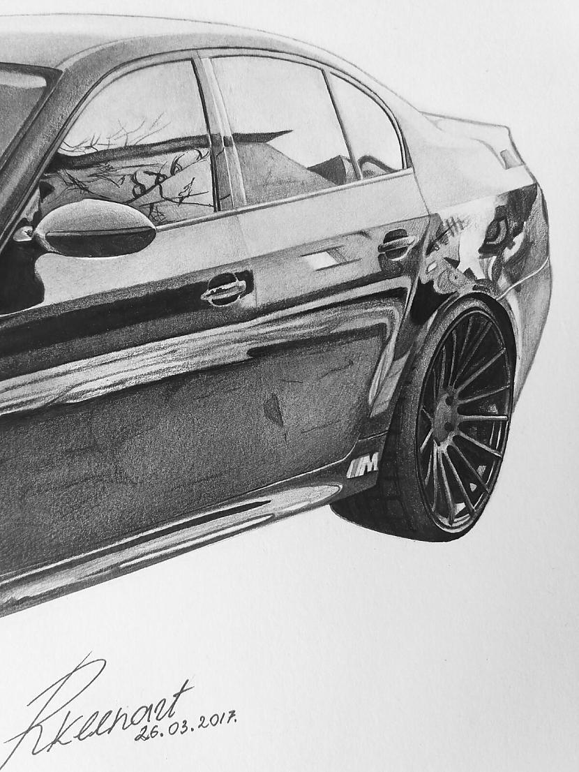Autors: Ritvars Liepnieks Mans zīmējums - BMW M5 E60