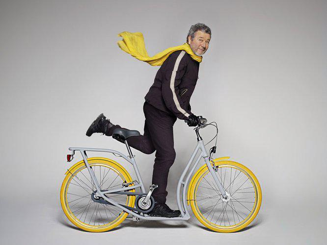Velosipēds  skrejritenis... Autors: Bauskas Motormuzejs Neparastie velosipēdi.