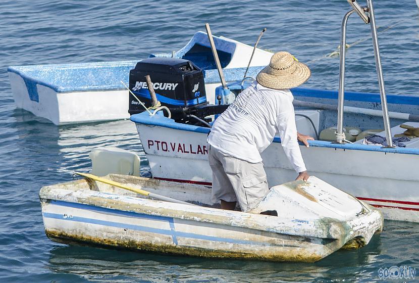 Laivas vīrs jeb kapteinis Autors: Alex Vikingo Foto no Meksikas ikdienas