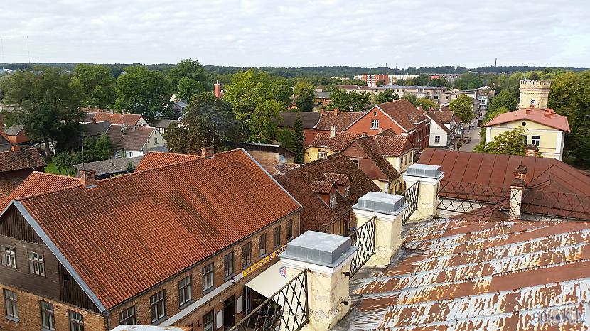 Autors: pyrathe Kuldīga: pastaiga pa arodskolas jumtu