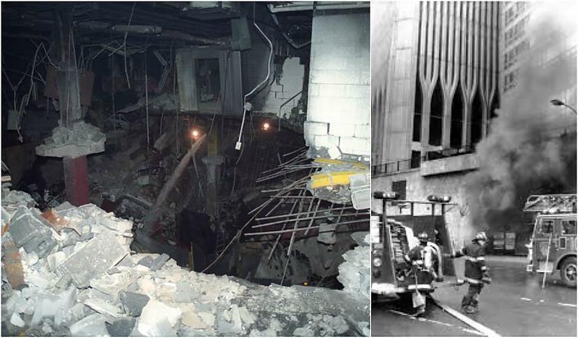 1993gada 26februārī teroristi... Autors: Plane Crash central Pirmais uzbrukums PTC dvīņu torņiem