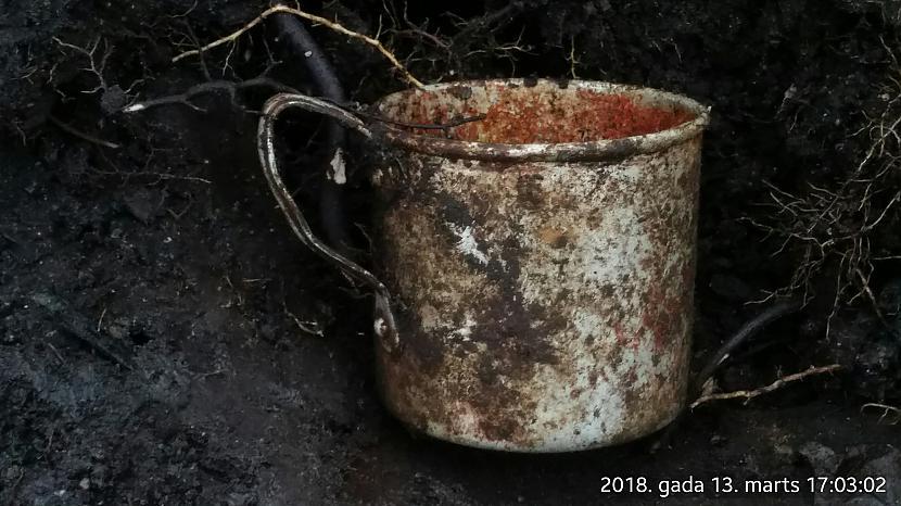 Krievu alumīnija krūze Autors: Sanders Pazemes zveja ar Garrett 2