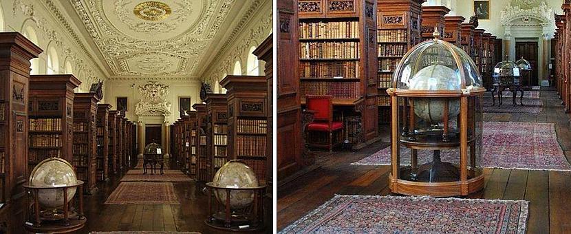 Karalienes koledžas bibliotēka... Autors: matilde 13 skaistākās bibliotēkas pasaulē, kas būtu jāapmeklē katram grāmatu mīlim