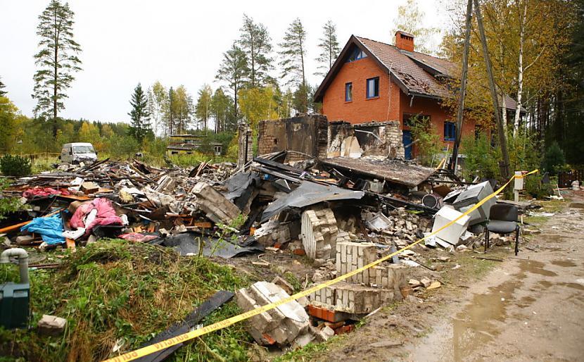 Sprādziens Saulkrastos... Autors: Plane Crash central Traģēdijas, kas šokēja Latviju (3)