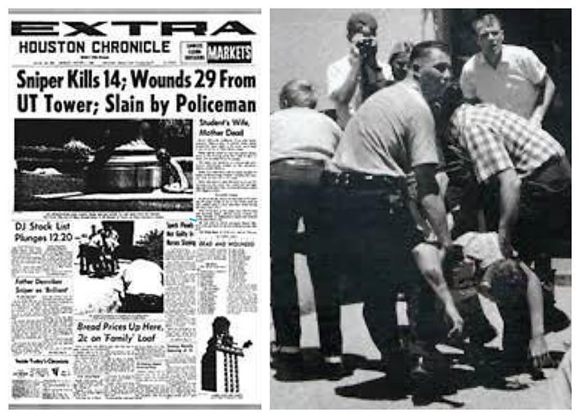 Tveicīgā 1966gada 1 augusta... Autors: Plane Crash central Vai smadzeņu audzējs pārvērta šo ASV jūras kājnieku par masu slepkavu?