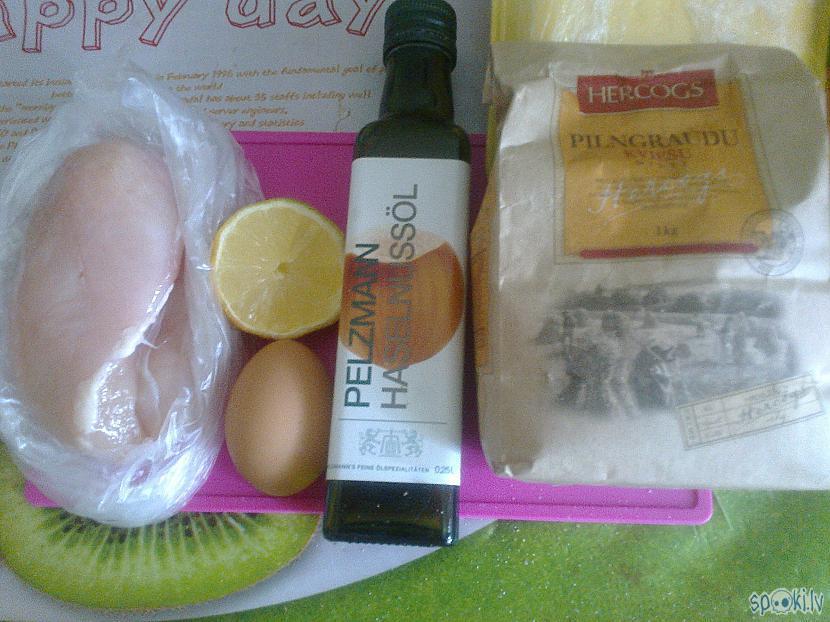 Redzamie produkti ir... Autors: ezkins Pikantas vistas filejas strēmelītes, sagaidot brazīļu uzvaru, olē!!!