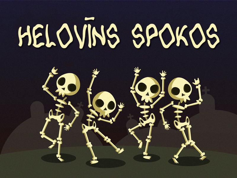 Autors: Spoki Lipīgi saldu Helovīnu!