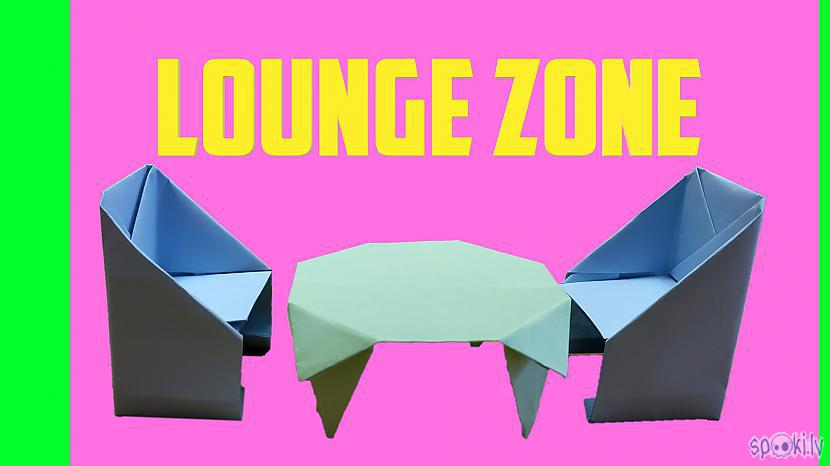 Autors: Halynka Georgiatx Origami lounge zone