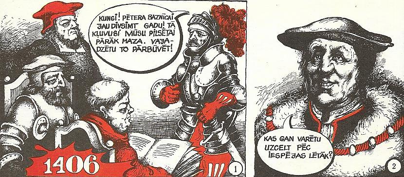 Autors: GargantijA Pētergaiļa stāsts komiksā