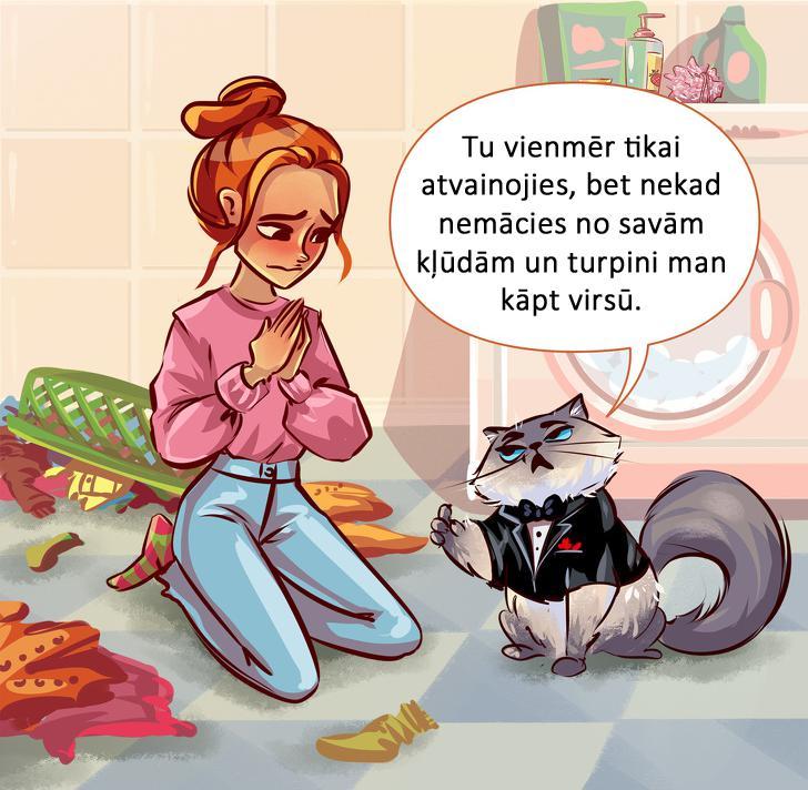 Atbilde Pārāk bieži Autors: matilde 10 tipiskas situācijas, kurās sevi var atpazīt KATRS kaķa saimnieks