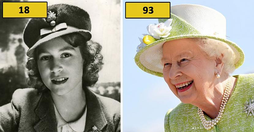 Karaliene Elizabete II Autors: matilde Foto: Kā karaliskās ģimenes pārstāvji izskatījās 18 gadu vecumā?