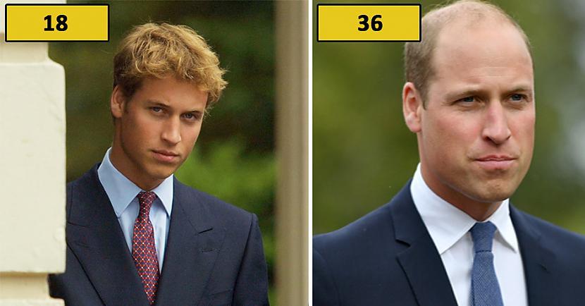 Princis Viljams Autors: matilde Foto: Kā karaliskās ģimenes pārstāvji izskatījās 18 gadu vecumā?