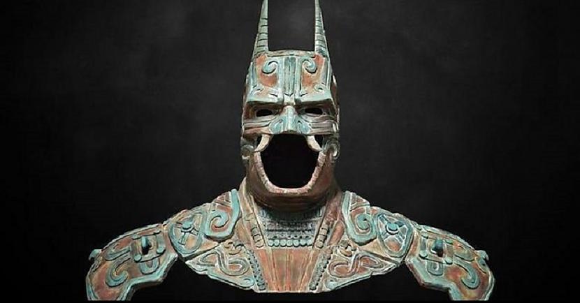Parasti tas tika attēlots ar... Autors: Lestets Kamazots - seno maiju sikspārņdievs, ko pielūdza pirms 2500 gadiem