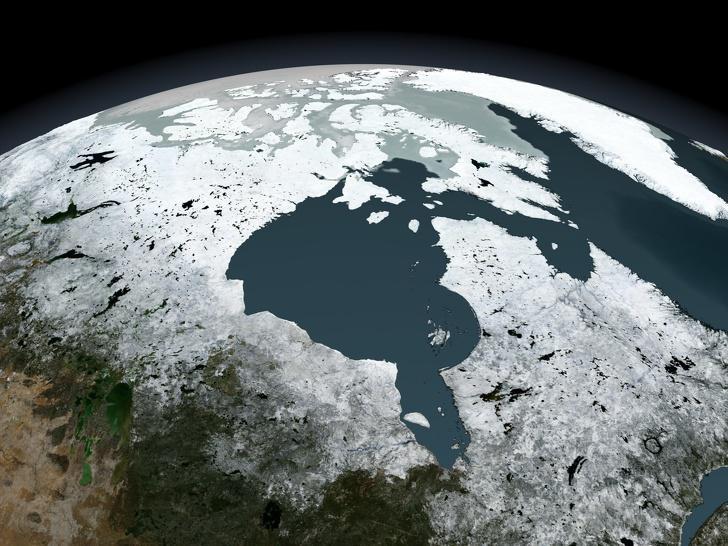 Hudzona līcī ir apgabals kurā... Autors: Lestets 18 lietas, kas pierāda, cik unikāla valsts ir Kanāda