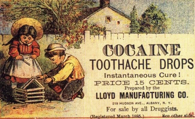 Ārstēscaronana ar kokaīnuPirms... Autors: The Diāna 10 mūsdienās bīstamas lietas, kas dažus gadus atpakaļ bija pilnīgi normālas