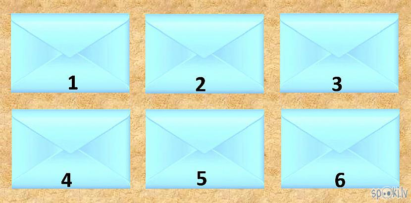 Izvēlies vienu no 6 aploksnēm... Autors: rasiks Tev jauna vēstule