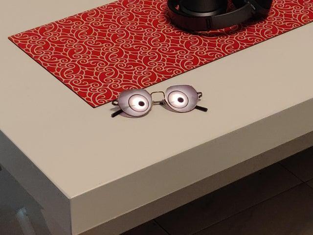 Lampas atspulgs saulesbrillēs Autors: Krixee Perspektīvai ir nozīme