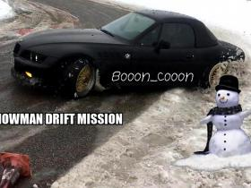Hit SnowMan Drift Mission | 333 Trase + KONKURSS | BMW Z3 @Booon_Cooon | VLOG�