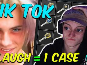 Reacting to Tik Tok (CS:GO Edition) 1 Laugh = 1 Case