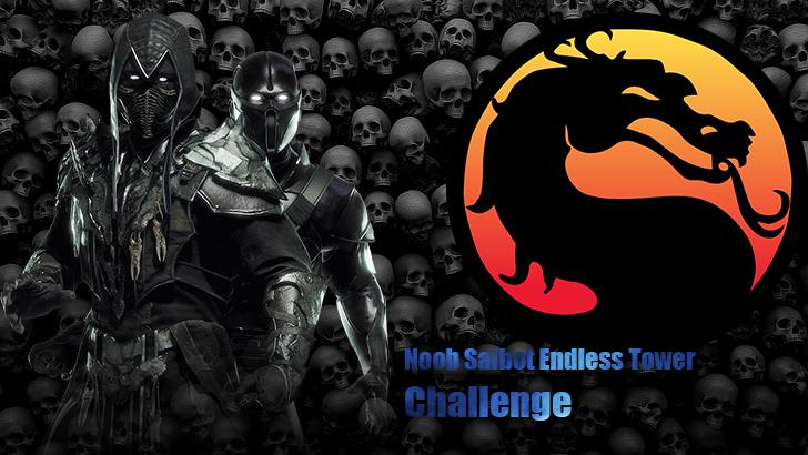 Mortal Kombat 11 playing as Noob Saibot endless tower Challenge