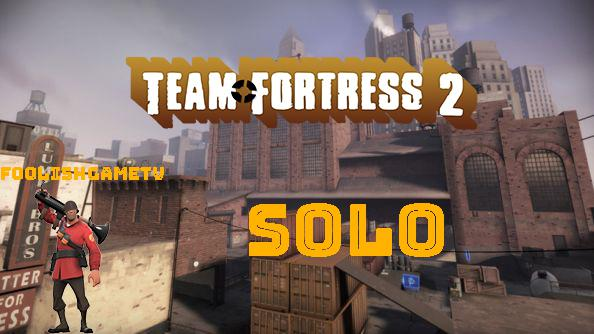 TF2 mvm_mannhattan Speed up Solo as soldier gameplay
