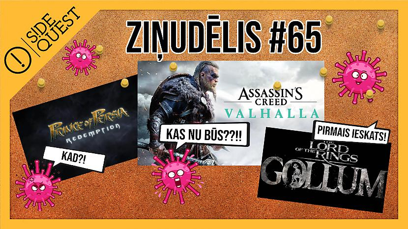 Ziņudēlis #65 - Prince of Persia Redemption? Assassin's Creed Valhalla!