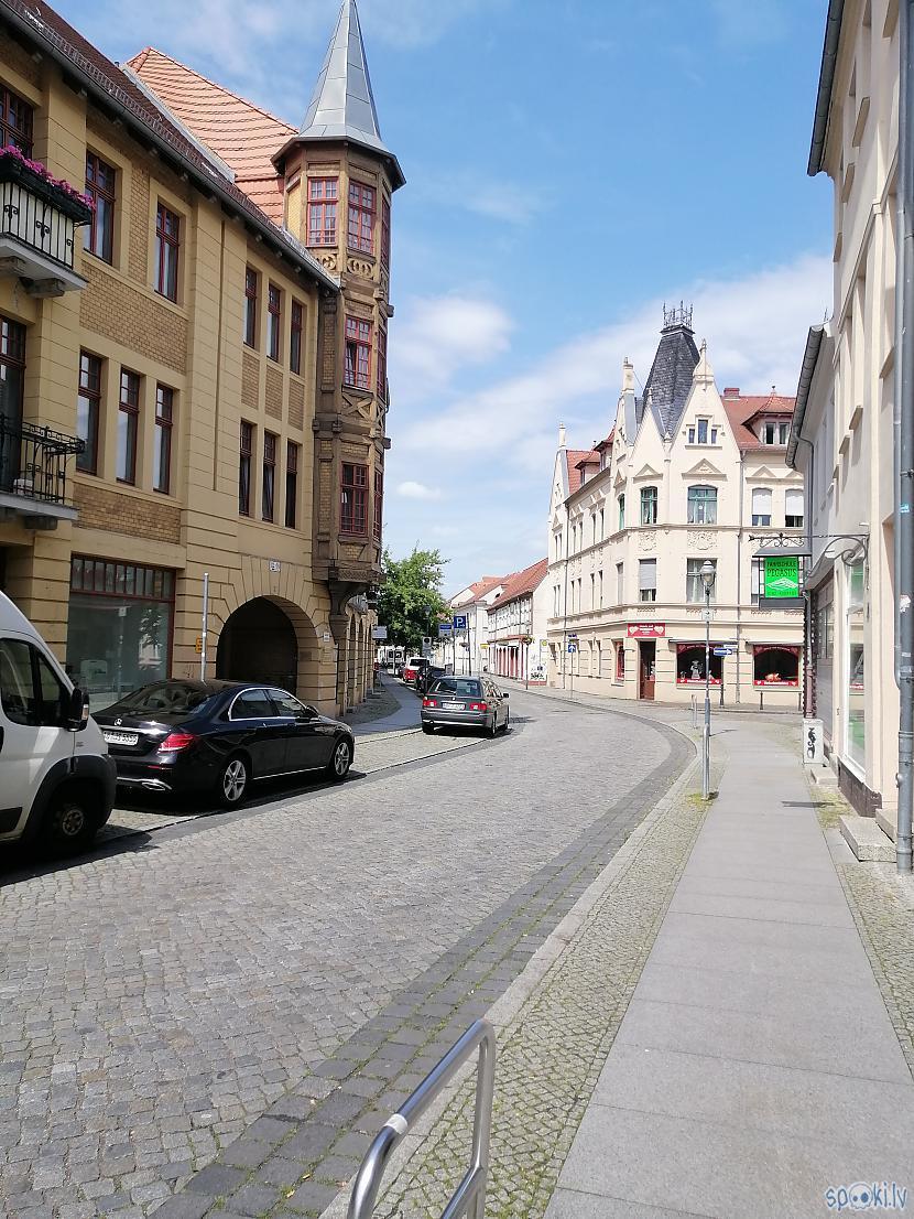 Foršas tās ieliņas sākumā... Autors: ĶerCiet Vācijā...