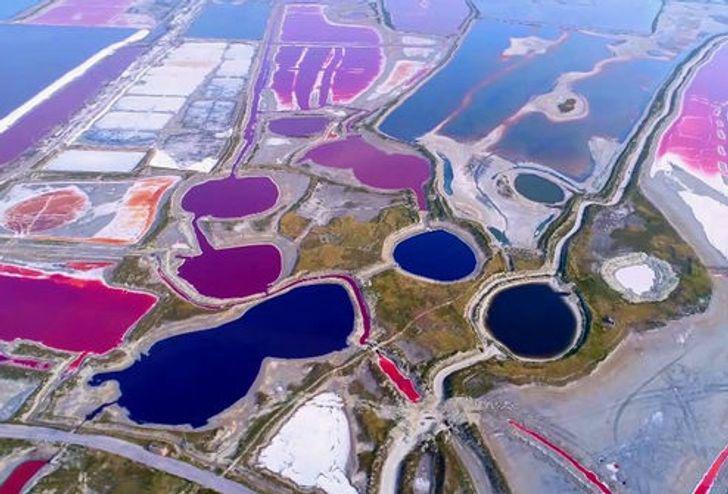 Junčengas ezers Ķīnā ir... Autors: Lestets Neticami, ka šīs 30 fotogrāfijas ir uzņemtas tepat uz Zemes