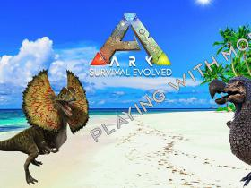 ARK Survival Evolved Playing with Mods