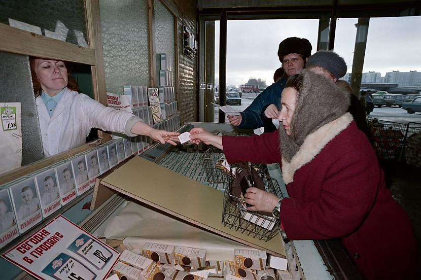 Laikam lielākā pārmaiņa ar... Autors: Lestets PSRS pēdējo dienu fotogrāfijas