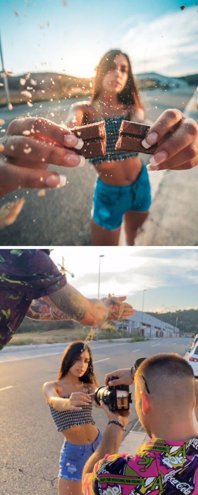 Autors: Fosilija Fotogrāfs Džordi Koalitiks parādīja, kas notiek skaistu fotogrāfiju aizkulisēs