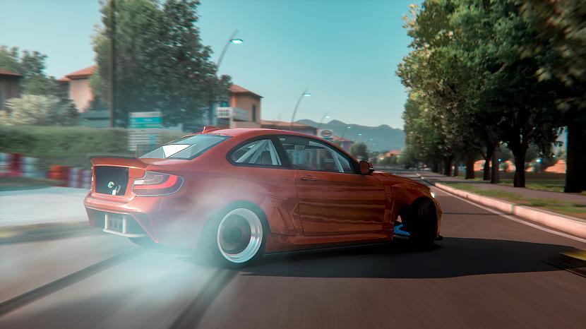Autors: Māris Freibergs Drifts caur Itālijas pilsētai - Lukka - BMW M2 F22