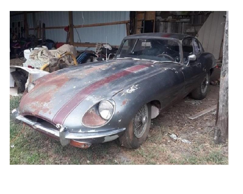 Salons protams ir arī laika... Autors: Zibenzellis69 Atrasts sarūsējis Jaguar E-Type stāvēja 30 gadus bez kustības (20 fotoattēli)