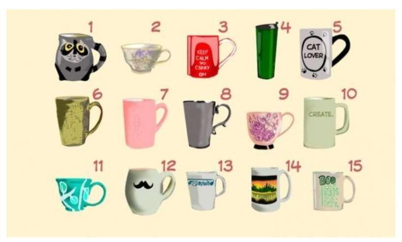 Nr 6Jūs esat darbīgs un... Autors: Zibenzellis69 Psiholoģisks tests: Ko tasītes izvēle liecina par tavu raksturu?