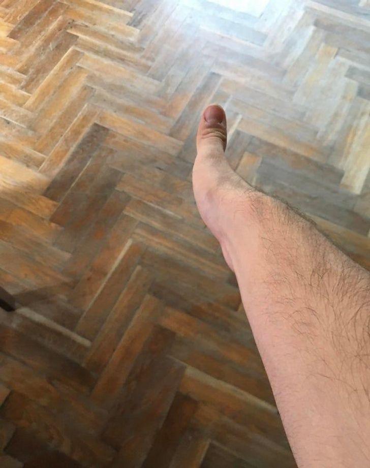 Vai zinat kā izskatās roka no... Autors: Lestets 19 mulsinošas fotogrāfijas, kurām ir nepieciešams papildu izskaidrojums