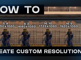 CSGO 5:4 Custom Resolution!