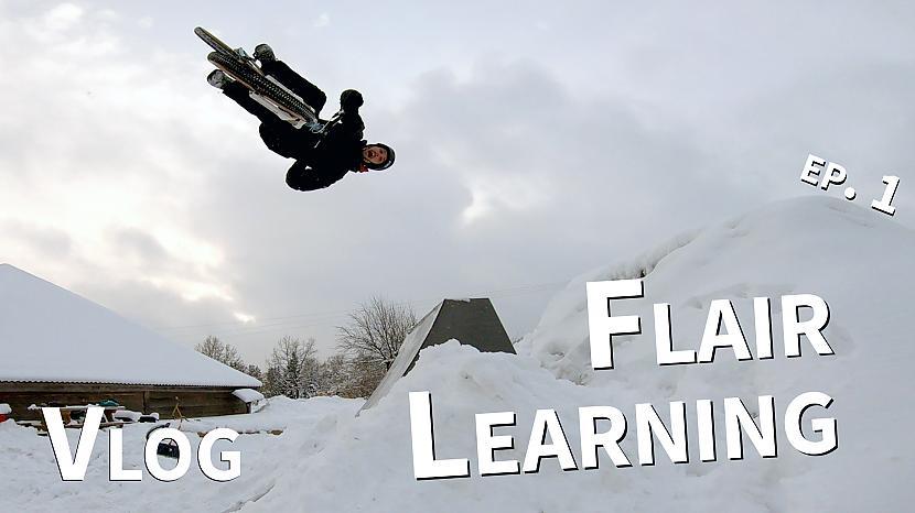 Autors: Ansis Blumbergs Kā iemācīties atmugurisko salto ar 180 grādu pagriezienu ziemā?