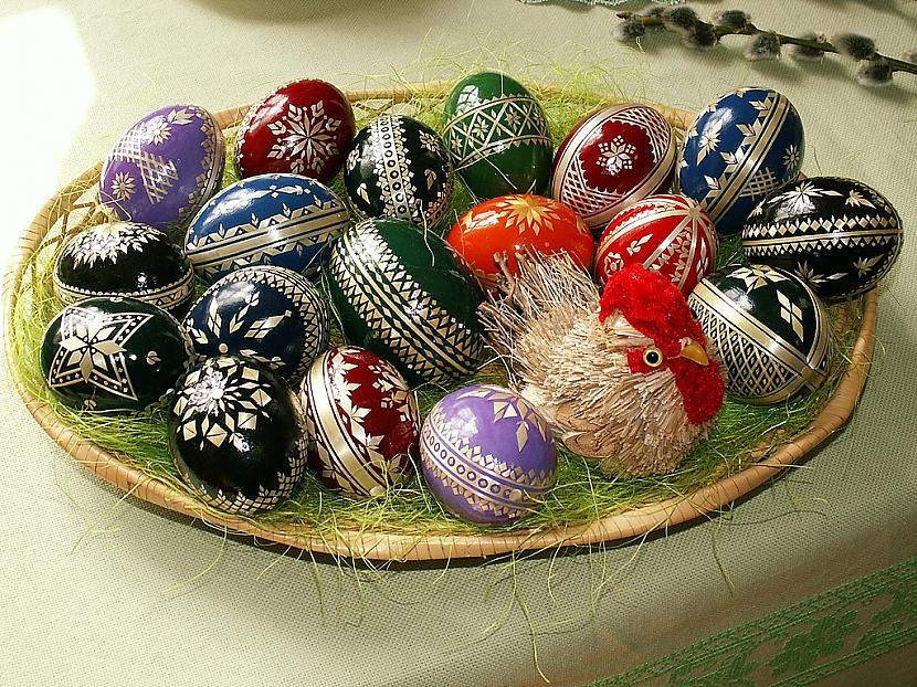 Viens no galvenajiem Lieldienu... Autors: spokixd.lv Kas ir Lieldienas un kāpēc Lieldienās krāso olas?
