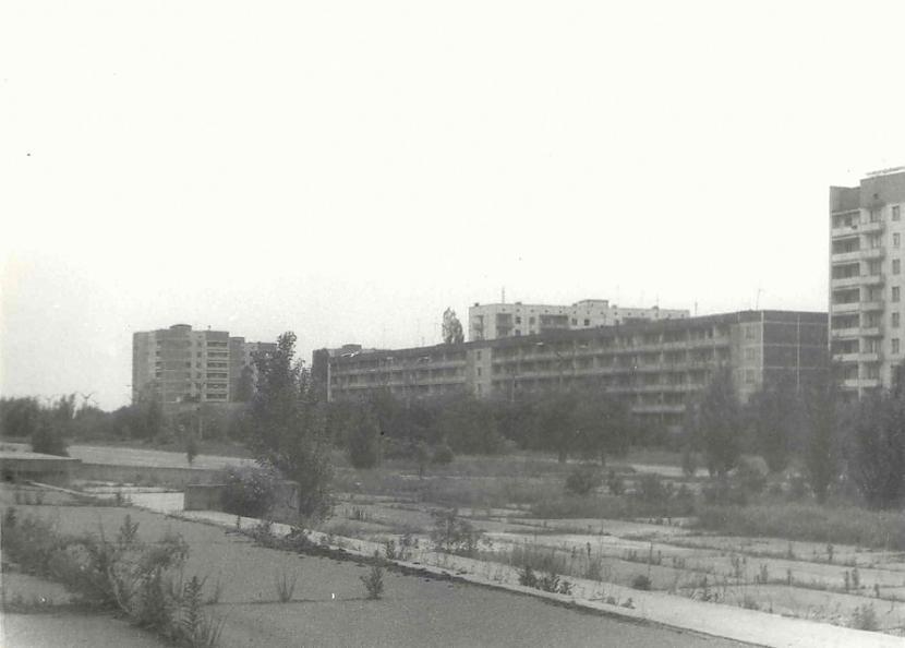 Kurčatova iela 1994 g  Autors: Lestets Kā izskatījās Pripjata 90-tajos gados