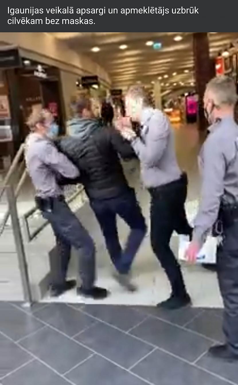 Autors: Zibenzellis69 Igaunijas veikalā uzbrūk cilvēkam bez maskas