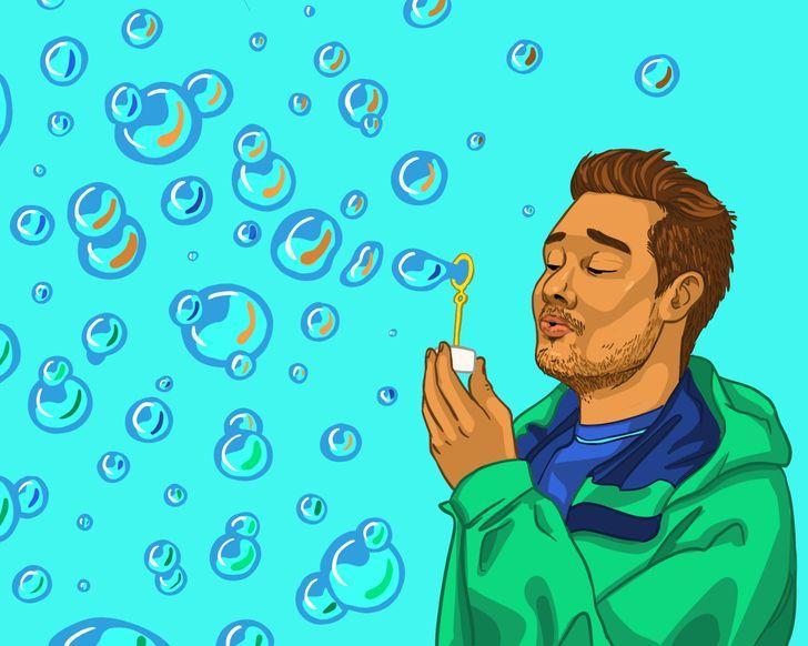 Visvairāk ziepju burbuļu ar... Autors: Lestets 14 rekordi, ko vari pārspēt arī bez trenēšanās